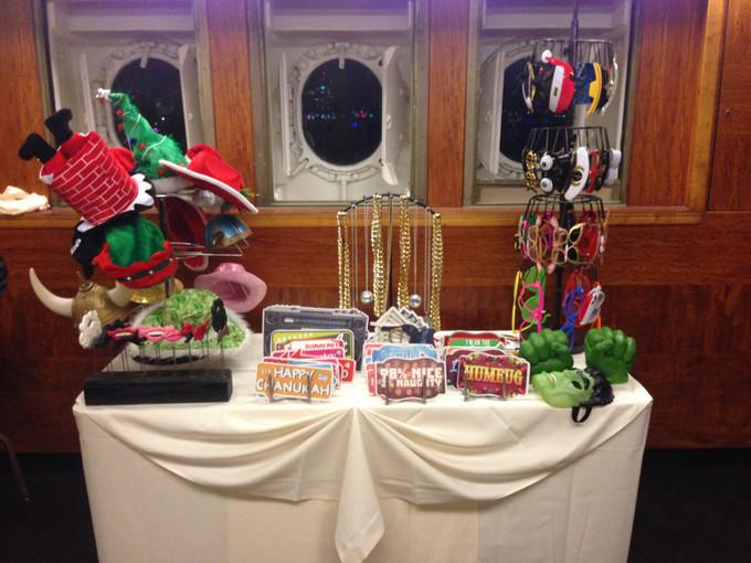 Photo Booth Setup - Christmas Props 1.JP