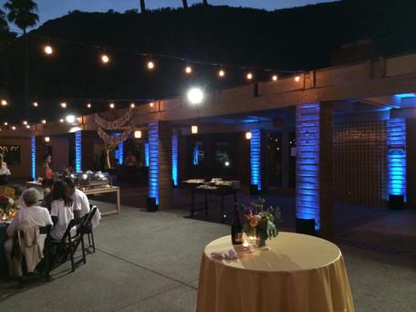 Uplights At The Ranch.JPG