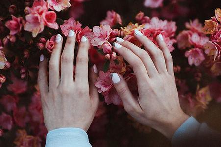 pěstěné ruce