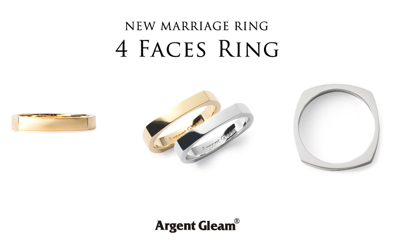 """NEW MARRIAGE """"4Faces Ring"""""""