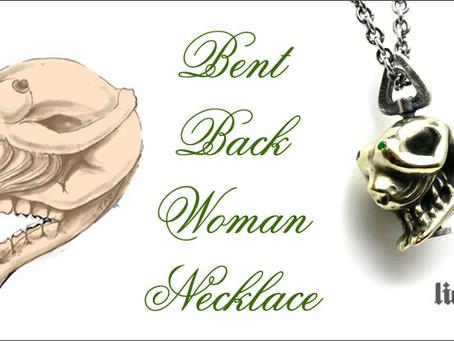 『Bent Back Woman Necklace』