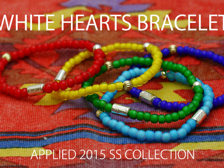 『WHITE HEARTS BRACELET』