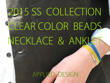 『Clear Color Beads Necklace & Anklet』