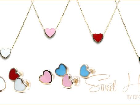 『Sweet Heart Necklace & Pierce』
