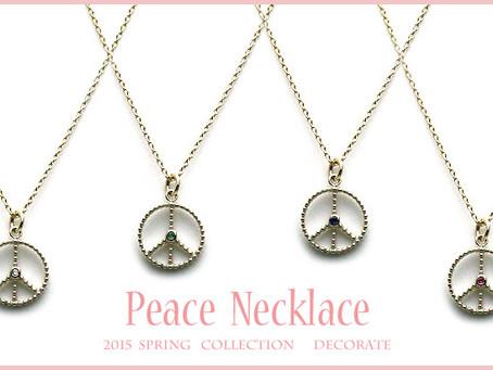 『2015 Decorate Decorate Peace Necklace』