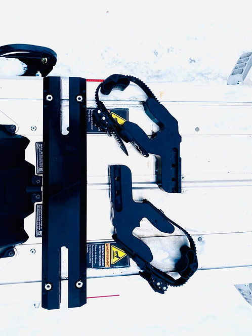 Quick Connect Ski Rack