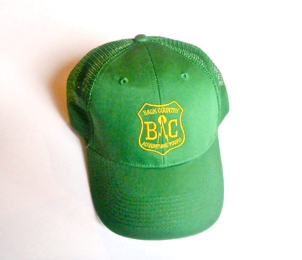Retro Forest Service Style Truckers Hat