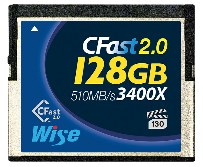 Wise CFast 2.0 128GB 記憶卡