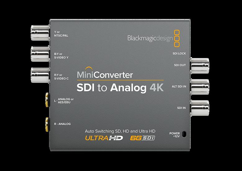 Mini Converter SDI to Analog 4K 迷你轉換器