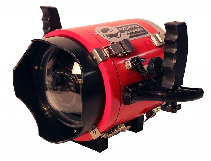【展示機福利價】Blackmagic 2.5K 及 4K 攝影機潛水盒