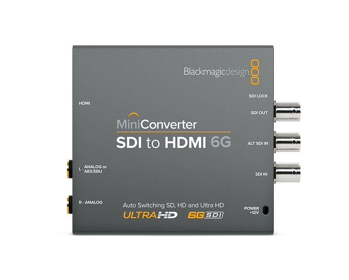 Mini Converter SDI to HDMI 6G 迷你轉換器