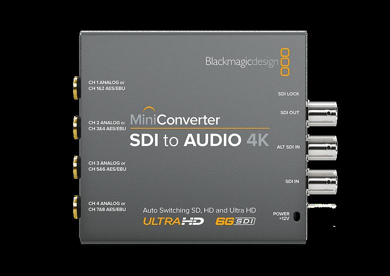 Mini Converter SDI to Audio 4K 迷你轉換器