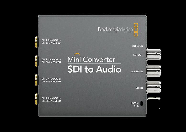 Mini Converter SDI to Audio 迷你轉換器