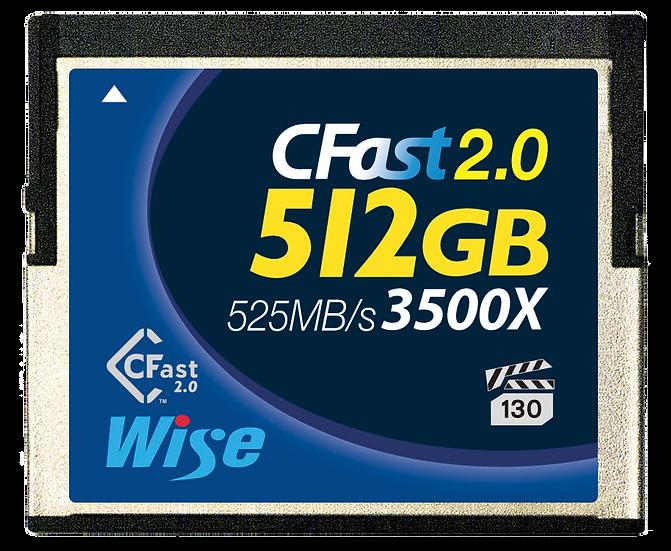 Wise CFast 2.0 512GB