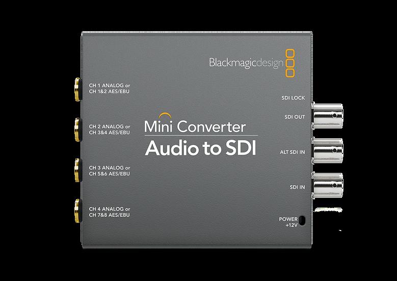 Mini Converter Audio to SDI 迷你轉換器