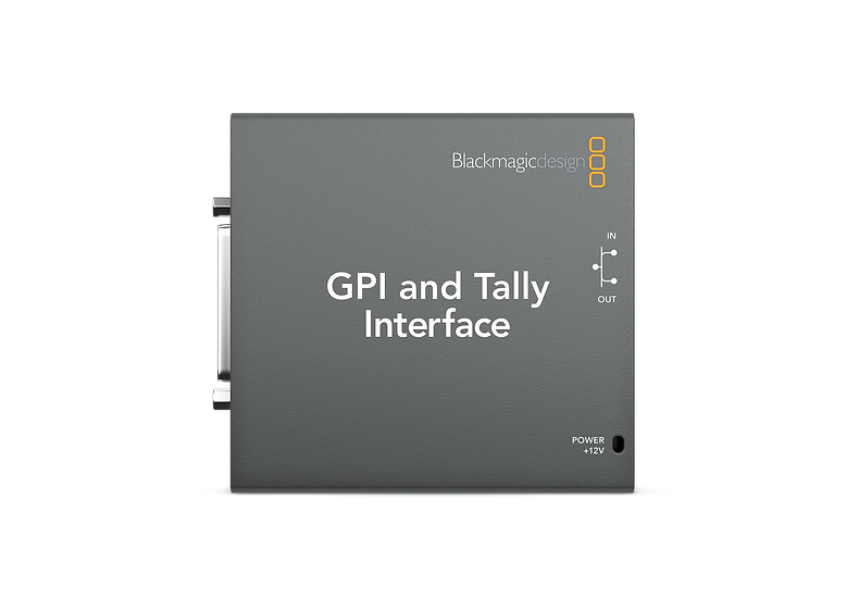 Blackmagic GPI and Tally Interface