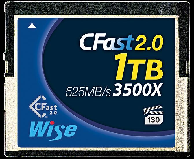 Wise CFast 2.0 1TB 記憶卡