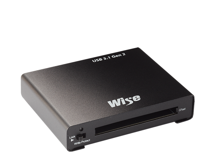 Wise USB 3.1 Gen2  讀卡機