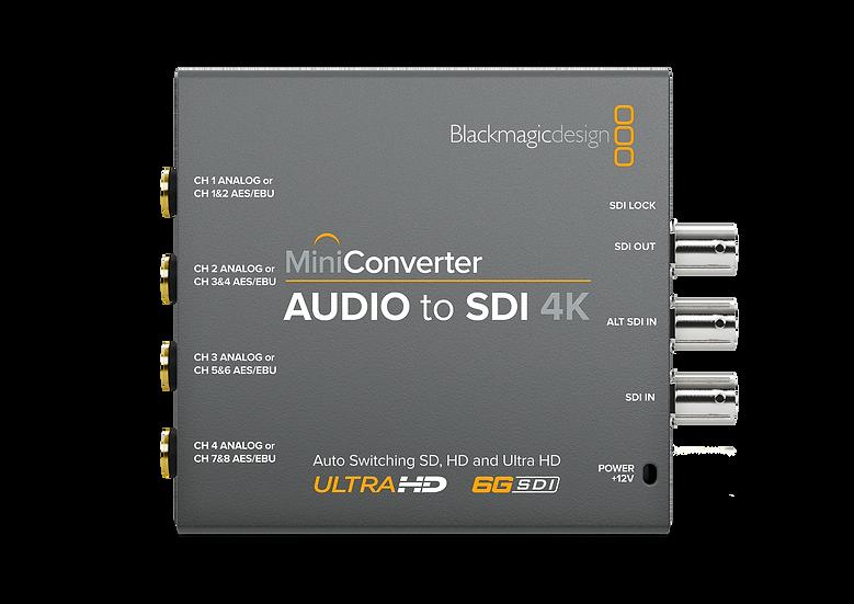 Mini Converter Audio to SDI 4K 迷你轉換器