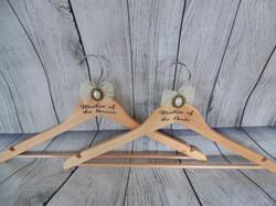 Wedding hangers (Natural)