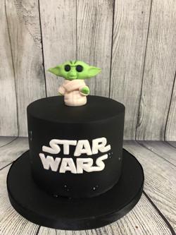 Mandalorian Birthday Cake