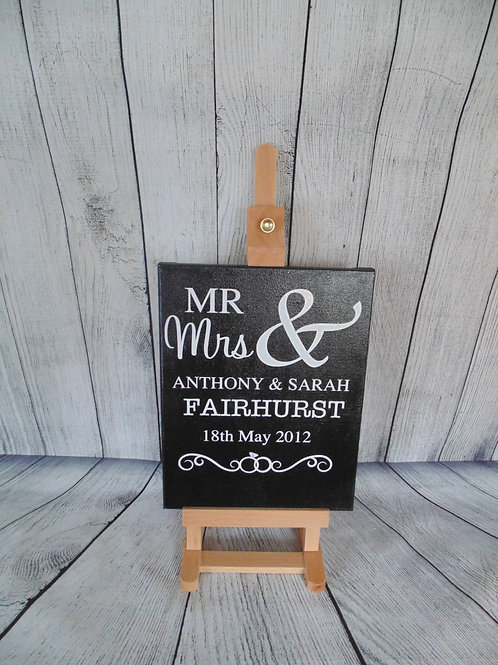 Mr and Mrs Canvas