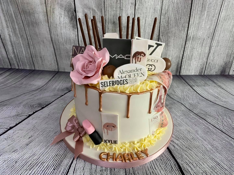 Designer Drip Cake