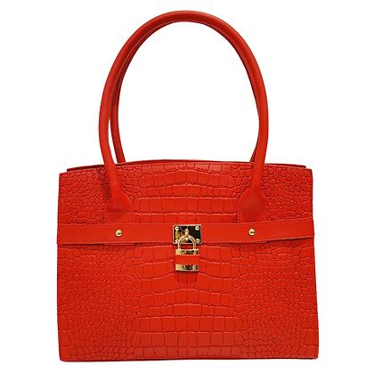 "Sac Cabas ""inspiration Hermès"" Rouge"