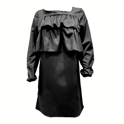 Robe à volants Noire