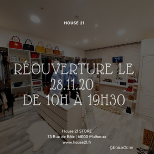 26.11.20 ON RE-OUVRE !!!