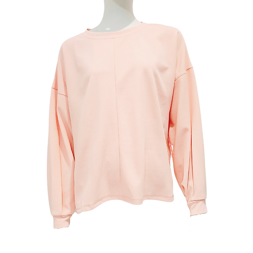 Blouse-Sweat Rose