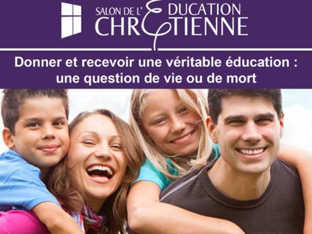 Le Salon de l'Education Chrétienne