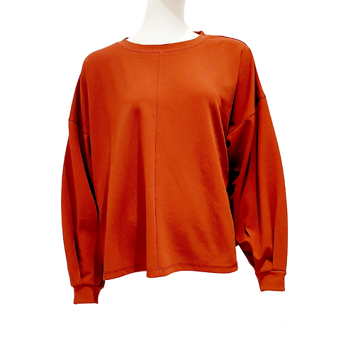 Blouse-Sweat Bordeau
