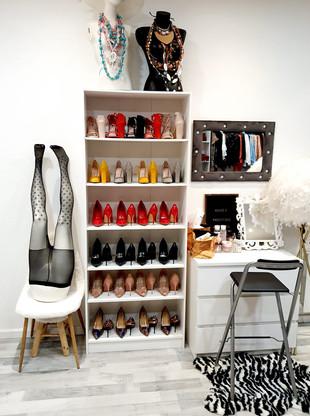 26.08.20 Installation des Chaussures