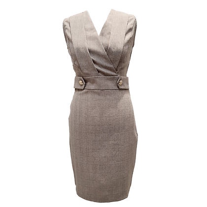 Robe Tailleur Grise