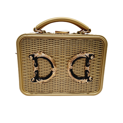 "Box Bag ""Luxury"" Doré"