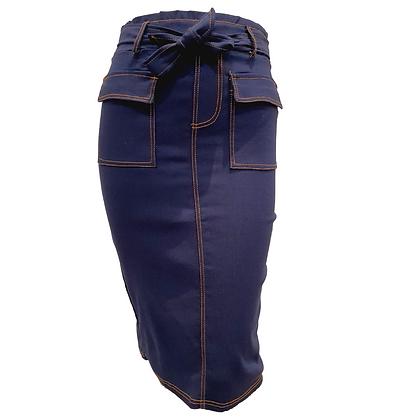 Jupe Saharienne Blue Jean