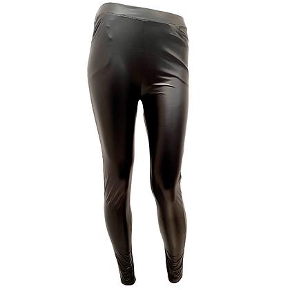 Legging Noir Simili cuir