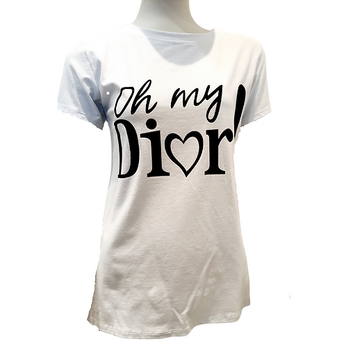 "Tee Shirt ""Declaration to Dior"""