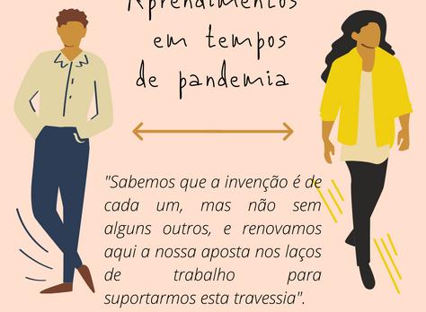 Aprendimentos em tempos de pandemia