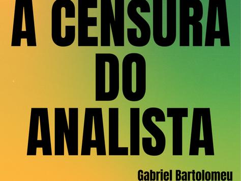 A censura do analista