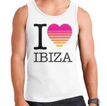 I Heart Ibiza Sunset Mens Vest 924.jpg