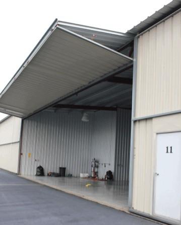 T-Hangar Bifold Electric Doors