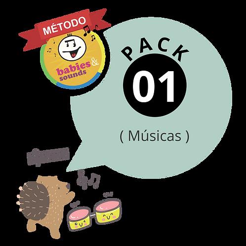 PACK 01  🎼 CONTÉM:  MÚSICAS + PLAYBACKS + LYRICS
