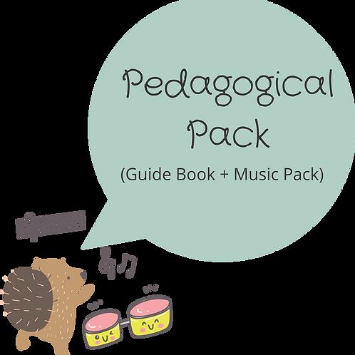 PACK 03  🎼  PACOTE PEDAGÓGICO- Guia didático + CD de canções digitais