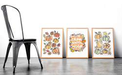 Whimsy Fall Poster Series