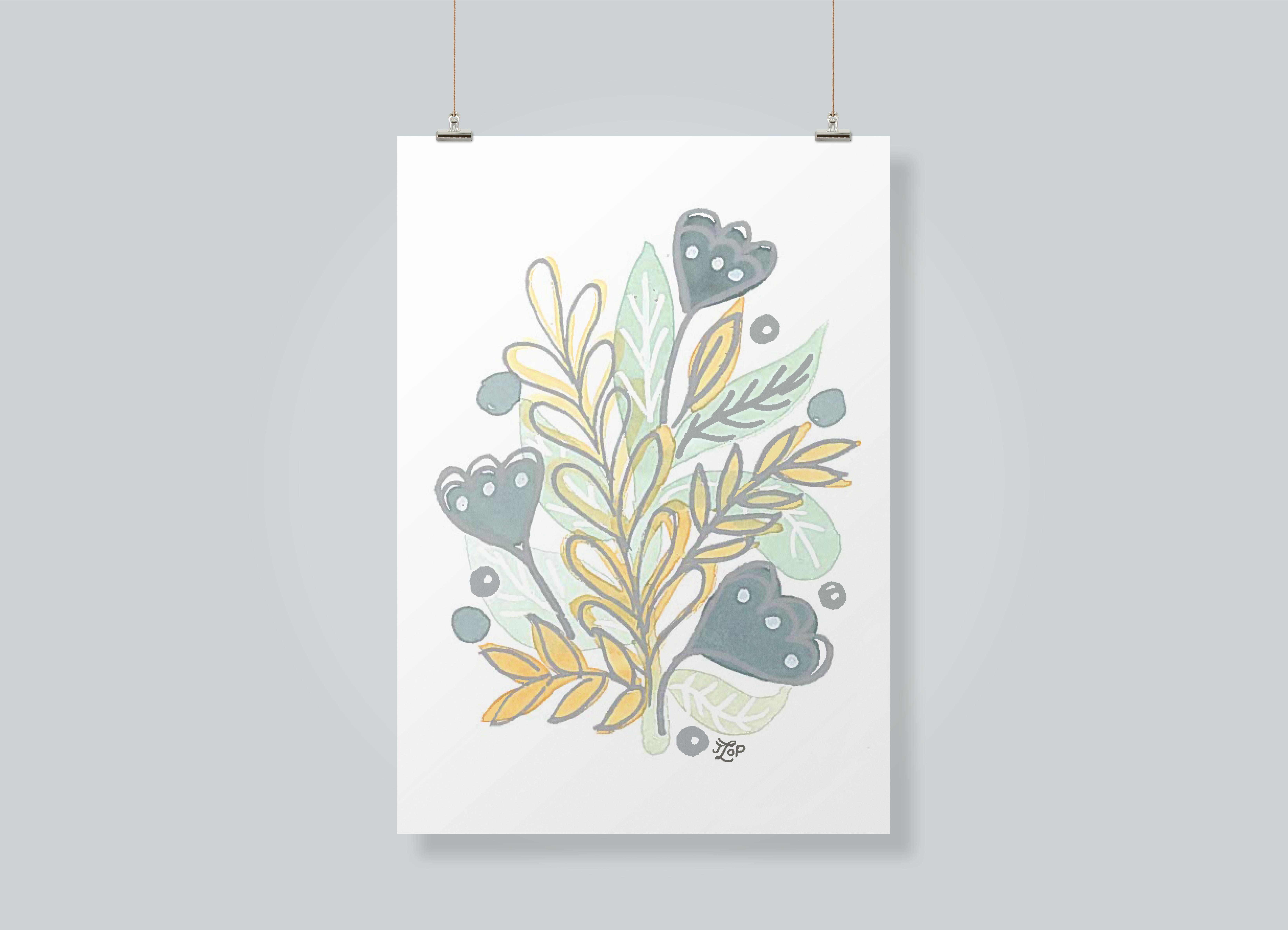 Botanical Poster