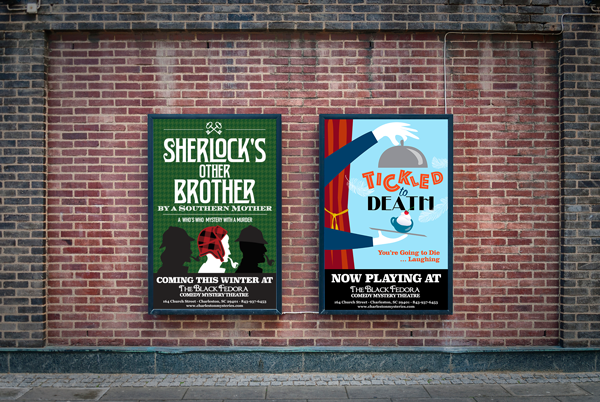 Black Fedora Theatre Show Posters