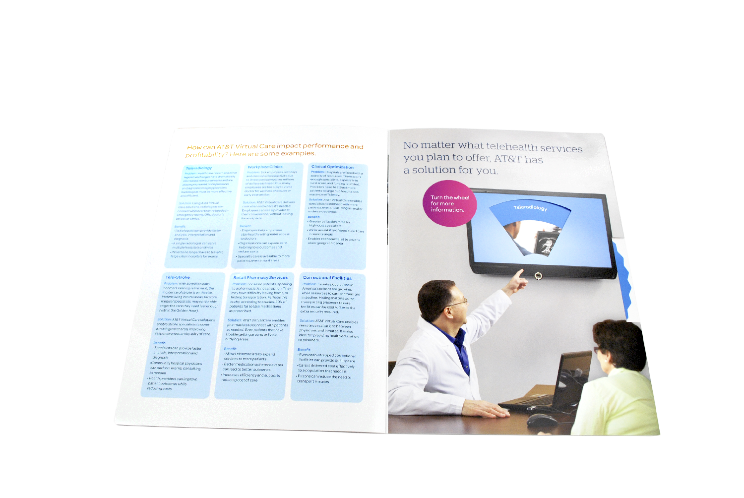 AT&T Virtual Care Wheel Brochure