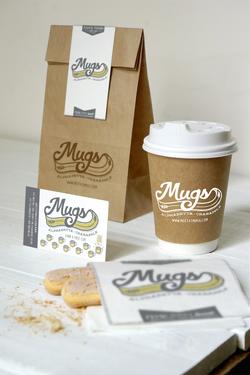 Mugs Coffee Shop Identity